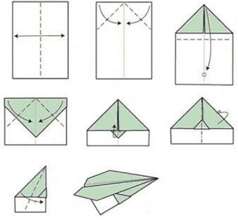 10 Ways To Make A Paper Airplane - how to make a paper airplane 11 ways how2db