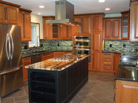 custom kitchen remodeling and modern design by atmosphere builders