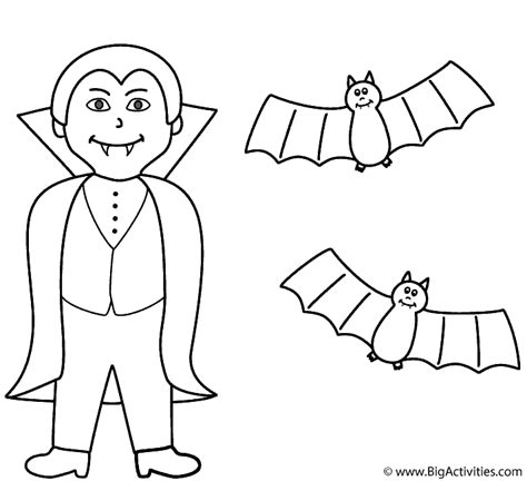 halloween coloring pages dracula vire with bats coloring page halloween