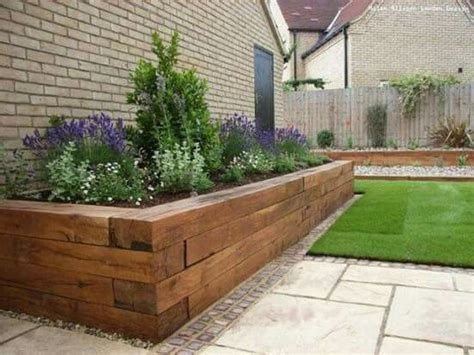 Railroad Tie Landscaping Ideas 25 Best Railroad Ties Landscaping Ideas On Pinterest Railroad Ties Railway Ties And Cheap