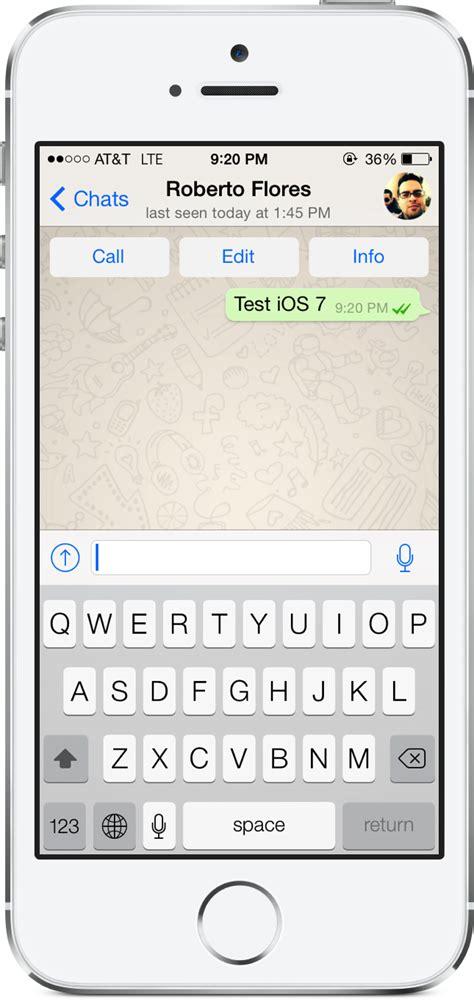 tutorial whatsapp iphone 5 whatsapp actualizado con nueva interfaz y funciones para