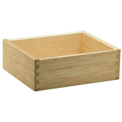 Maple Drawer Boxes by Dovetail 1 2 Sides 3 8 Bottom Drawer Boxes Decore