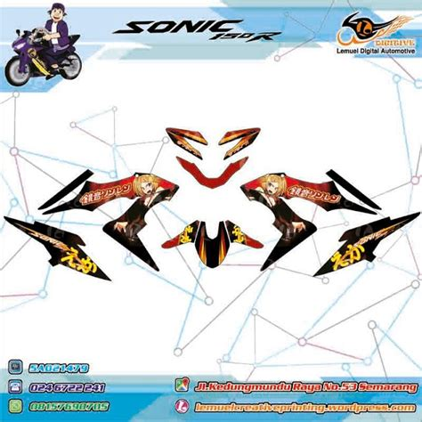 Sticker Satria Fu 2014 Striping Sonic 338 best digitive images on custom decals and total workouts