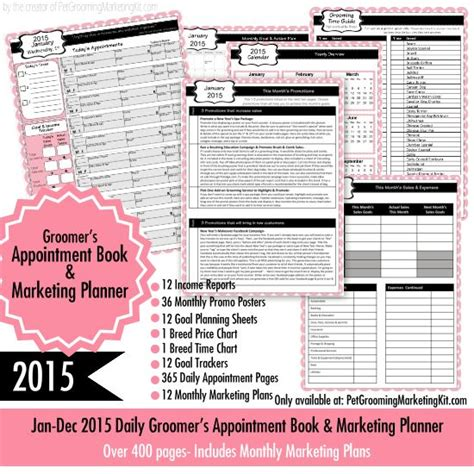 99 Best Groomers Advertising Templates Ideas Images On Pinterest Grooming Appointment Templates