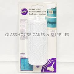 pattern roller for cakes glasshouse cakes supplies pattern roller geometric