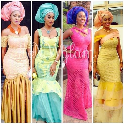 nigerian traditional wedding dress styles nigerian wedding ore iyawo aso ebi styles ankara styles