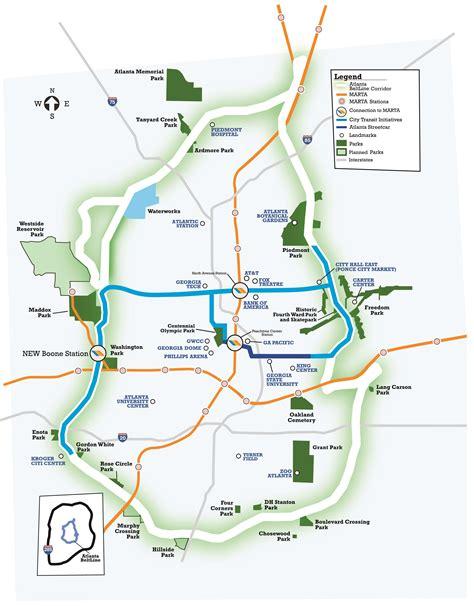 atlanta beltline map get up to speed on the transportation referendum atlanta beltline