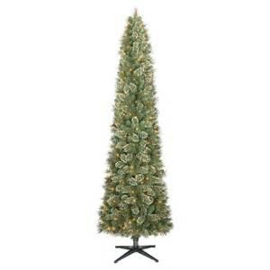 7 5 ft pre lit pencil virginia pine artificial target