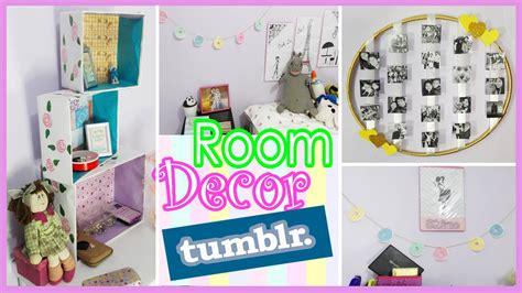 como decorar tu cuarto estilo unicornio diy decora tu cuarto como tumblr ft alicelimaland youtube