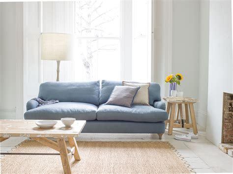 leinen sofa jonesy sofa classic sofa made in blighty loaf