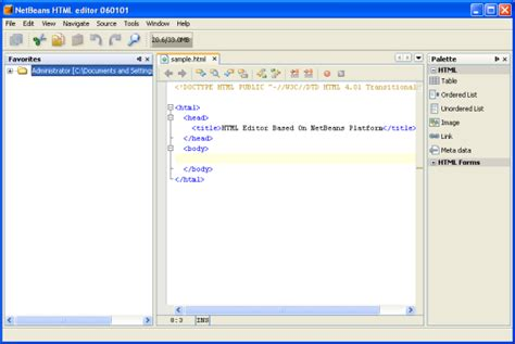 tutorial for netbeans 8 html netbeans софт