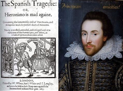 shakespeare biography in spanish shakespeare s hand in thomas kyd s the spanish tragedy