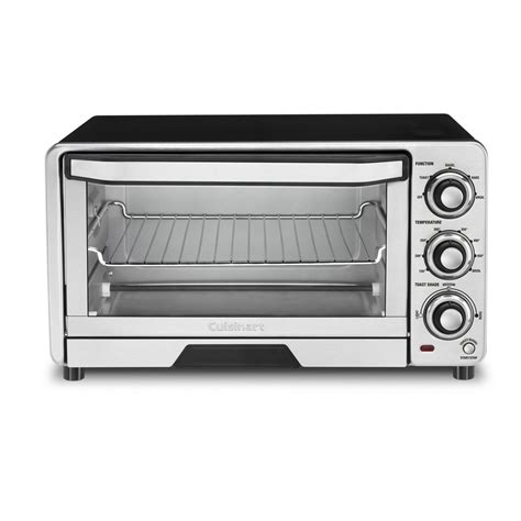 Silver Toaster Oven Shop Cuisinart 6 Slice Silver Toaster Oven With Auto Shut
