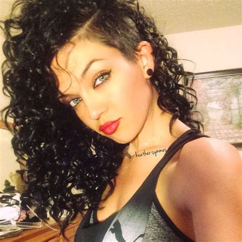 curly hairstyles with shaved sides curly hair shaved on sides best 25 shaved side hair ideas
