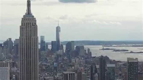 new york from the new york views from top of the rock ge building nyc youtube