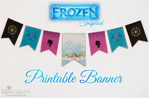 printable frozen banner southern blue celebrations free frozen party printables