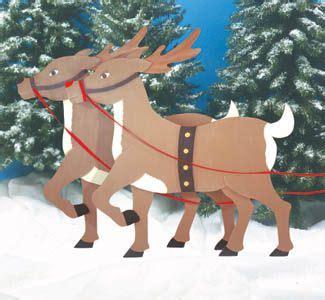 Wooden Christmas Reindeer Plans