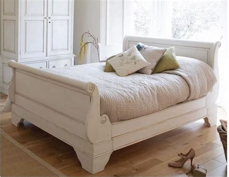 chalk paint bed frame pine sleigh bed turns into shabby chic search