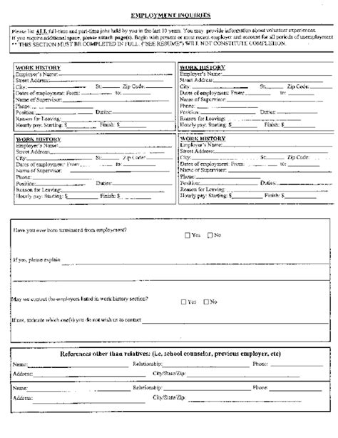 printable job application for chuck e cheese free printable chuck e cheese s job application form page 2