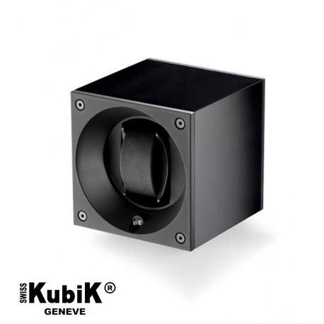 remontoir swiss kubik noir masterbox noir pour montre automatique la boite 224 montres