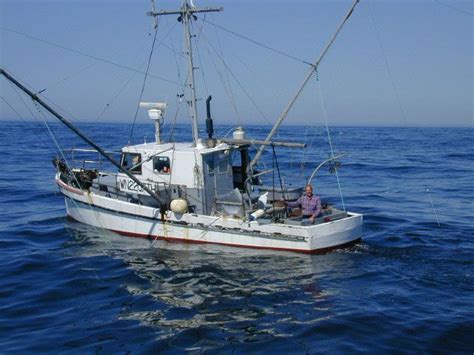 offshore fishing boat cost commercial salmon trolling off the washington coast