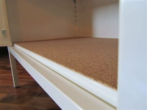 kitchen cabinet liners ikea cork shelf liner ikea ps cabinet diy and crafts pinterest