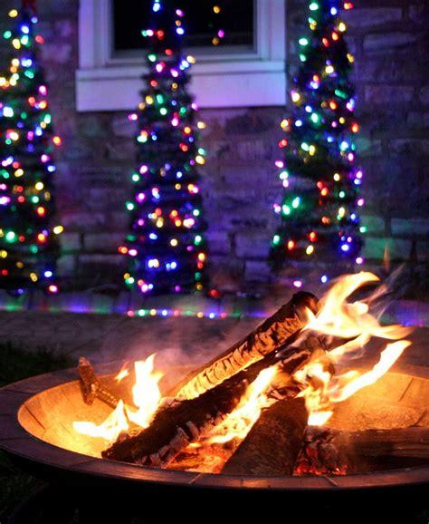 christmas lights backyard christmas light ideas for a backyard winter wonderland
