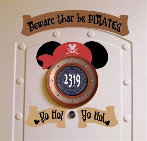 Cruise Door Magnets by Pirate Disney Cruise Stateroom Door Magnets Yo Ho