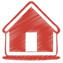 red returns home png image | royalty free stock png images