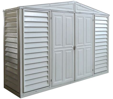 Vinyl Shed Kits by Duramax Sheds Vinyl Storage Shed Kits