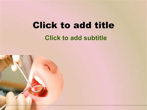 dental powerpoint templates free dental powerpoint template free free