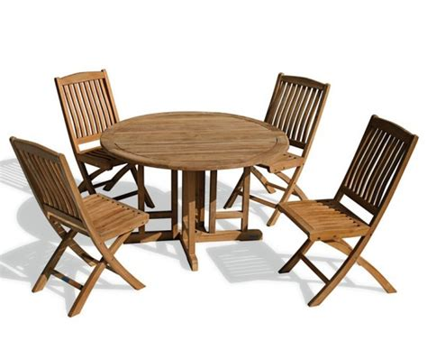 Gateleg Patio Table Berrington Garden Gateleg Table And Chairs Set