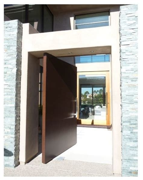 modern pivot front doors front entry pivot door contemporary entry san diego