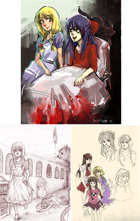 the witches house the witch s house doodles by d kitsune on deviantart