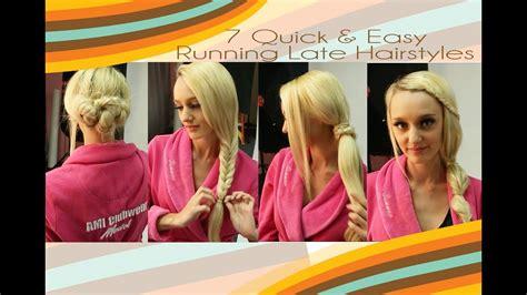 7 easy 5 minute hairstyles