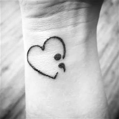 heartbeat tattoo semicolon pink hearts the o jays and semicolon tattoo on pinterest
