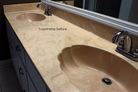 refinishing bathroom countertops project gallery countertop refinishing countertop