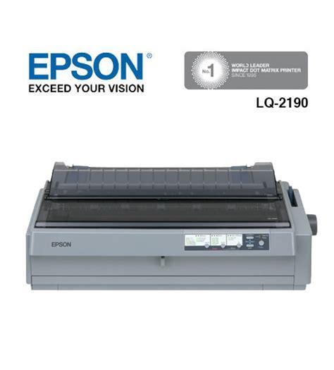 Printer Epson Lq2190 Dot Matrix epson lq 2190 24 pin usb parallel dot matrix printer a3