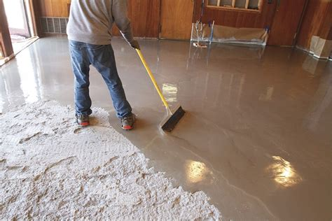 1 thick floor levelling compound self leveling concrete toppings provide a shortcut to a