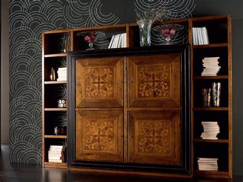 venier mobili libreria a parete in legno ca venier libreria cantiero