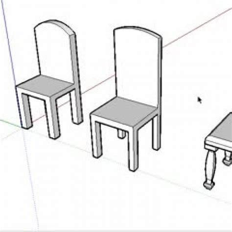 chair tutorial google sketchup create a chair with google sketchup