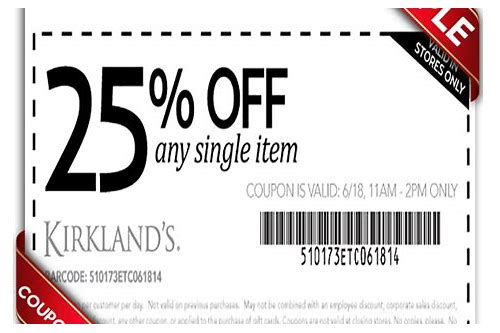 kirklands coupon january 2018