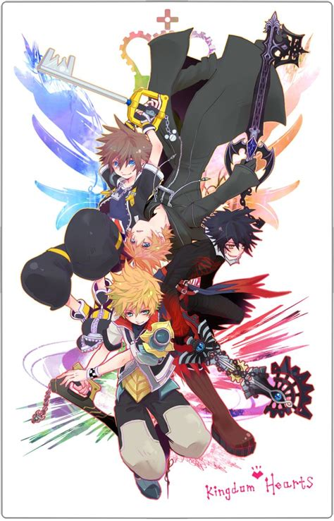 kingdom hearts vanitas kingdom hearts sora roxas ventus vanitas kingdom
