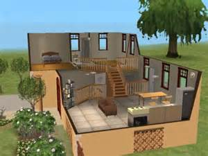 front to back split house mod the sims yesteryear split level family starter