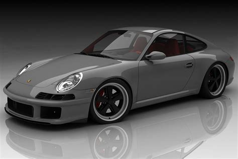 retro porsche custom 1960s flavored retro styling kit for porsche 997 designed