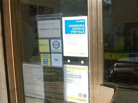 ufficio postale empoli sit in di protesta davanti alle poste di corazzano