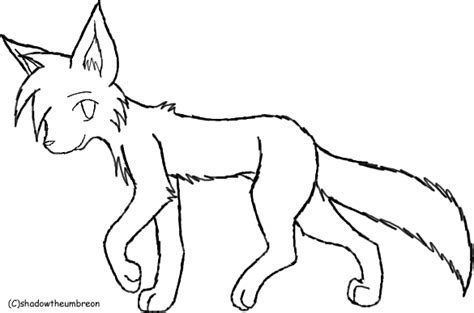 wolf template by shidatheumbreon on deviantart