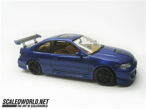 tuner honda civic revell honda civic tuner series scaledworld