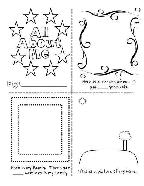 all about me2 pdf group individual ideas pinterest