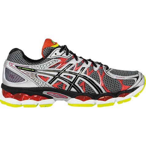 asics gel nimbus 16 mens running shoe t435n 9790 titanium